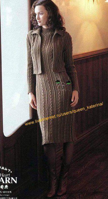Женский комплект - платье и жакет. Обсуждение на LiveInternet - Российский Сервис Онлайн-Дневников