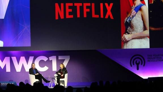 Netflix: We will stream to your eyeballs or VR or um whatever the future is Read more Technology News Here --> http://digitaltechnologynews.com  Today Netflix streams to TVs computers tablets phones game consoles and morebut what about in the future?  During a keynote at Mobile World Congress on Monday Netflix CEO Reed Hastings said the streaming video service will adapt to whatever the hot new video-viewing technology is in 10 20 or 50 years.   SEE ALSO: I can't believe how much I love this…