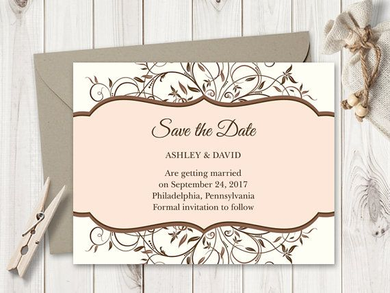 Best Wedding Invitation Templates Spring Vines Images On