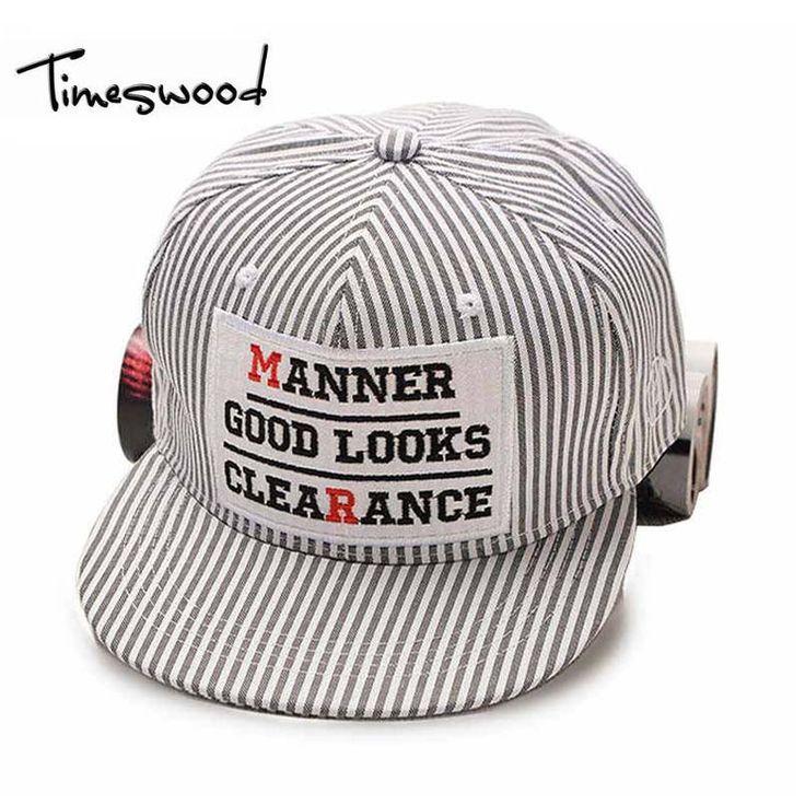 2017 Fashion Stripe Patch Letter HipHop Dancing Caps Gorras Planas Hip Hop Gorra Casquette Hats Chapeu Touca Homme For Men Women #Affiliate