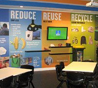 The Towards Zero Waste Education Centre is a Brisbane City Council education initiative based at theRochedale landfill site. The Centre invites visitors from Brisbane schools and community groups wishing to learn about moving towards zero waste, waste minimisation practices, and landfill operations.