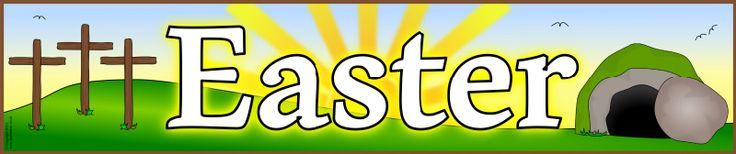 Easter display banner (SB9404) - SparkleBox