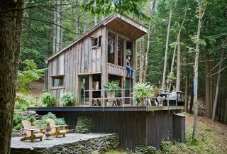 Build your own house cheap, own your own freedom with an off grid cabin, completely self-sufficient with no debt