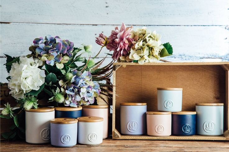 Pastel Collection : Lanterncove Home Fragrances - QLD but nice containers