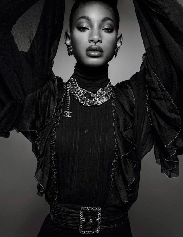 Willow Smith Dazzles for Vogue Paris Holiday 2016 Issue