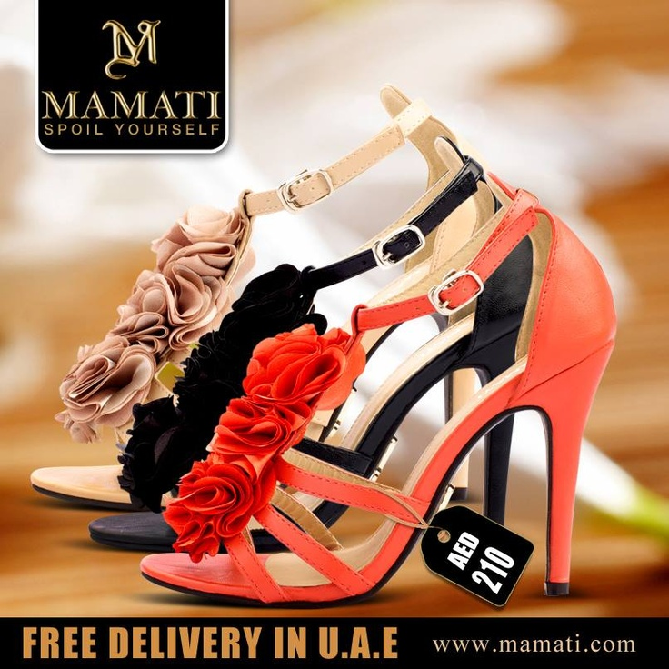 Buy now the ROMANTICA SHOES from www.mamati.com and get free gift.
