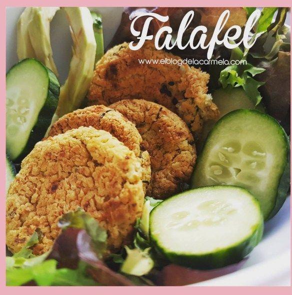 cómo hacer receta de falafel