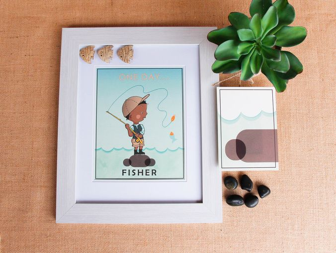 One Day Kids Prints - Fisher (www.chloeandgeorge.com.au)