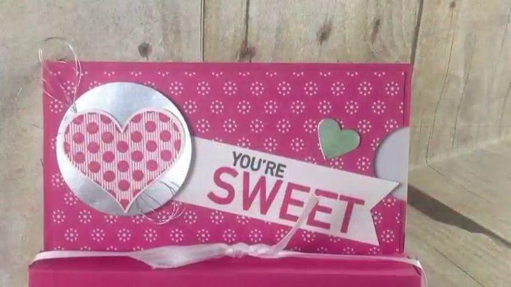Hershey kiss gift card holder