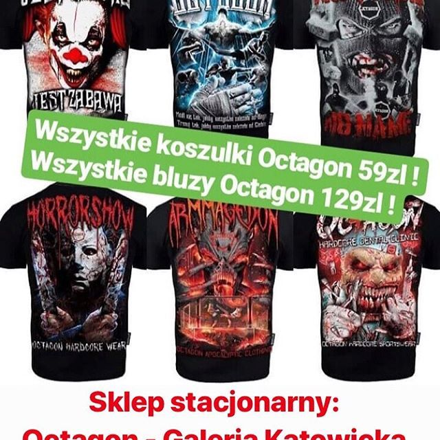 New The 10 Best Workout Ideas Today With Pictures Uwaga Mega Promocja W Octagon Katowice T Shirty Me Workout