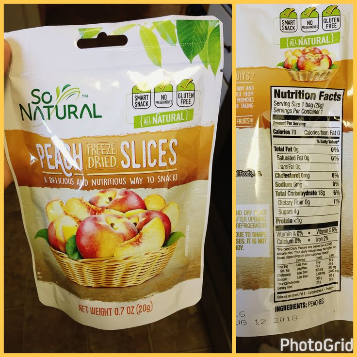 Found my new favorite snack at the dollar store of all places. Freeze dried peaches! #goodnutrition #physicalactivity #goodfood #vegetables #JuicePlus #healthymeal #healthyfood #healthy #health #exercise #eatclean