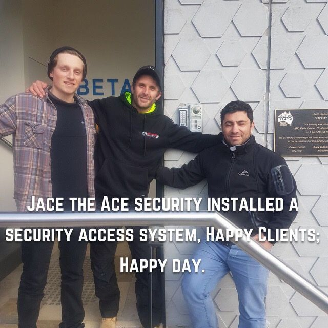 For more info, leave us a msg on our Facebook page;  pop us an email at office@jacetheacesecurity.com.au check out our website www.jacetheacesecurity.com.au or simply give us a call on 1300 062 986 #jacetheacesecurity #feelsecure24/7 #security #choosejacetheace #lovewhatwedo #melbourne
