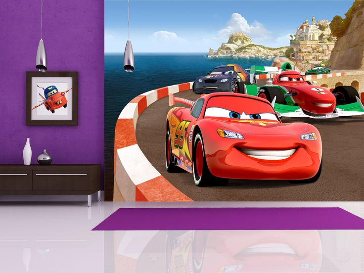 Disney Cars Kids Wallpaper Mural By WallandMore! Beautiful Addition To Your  Childrenu0027s Room. Part 40