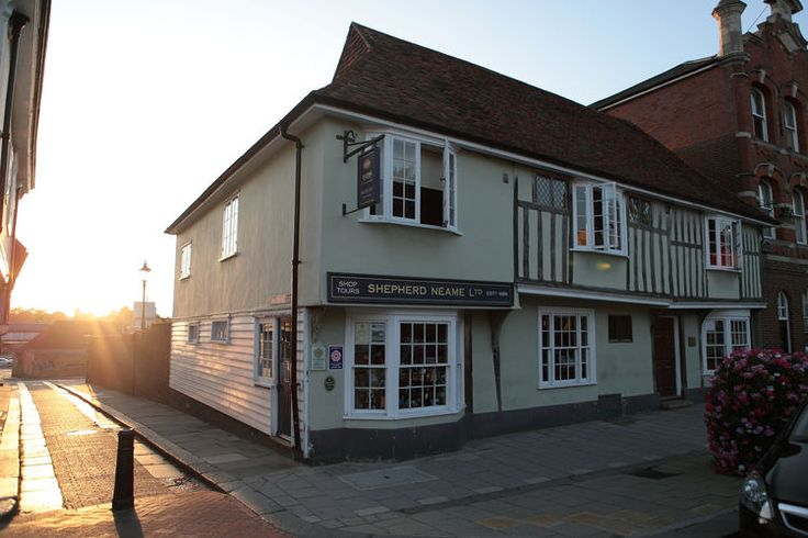 The Shepherd Neame Brewery in Kent.