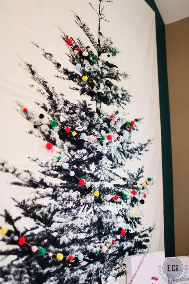 Fabric Christmas Tree Fabric Christmas Trees Wall Christmas Tree Christmas Stockings Diy
