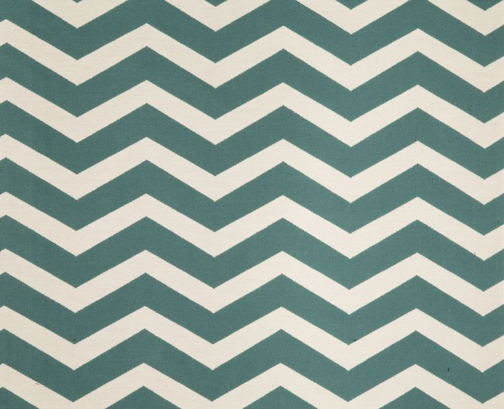 Tribe woven chevron in colour teal, from Svenmill's Bohemian Collection