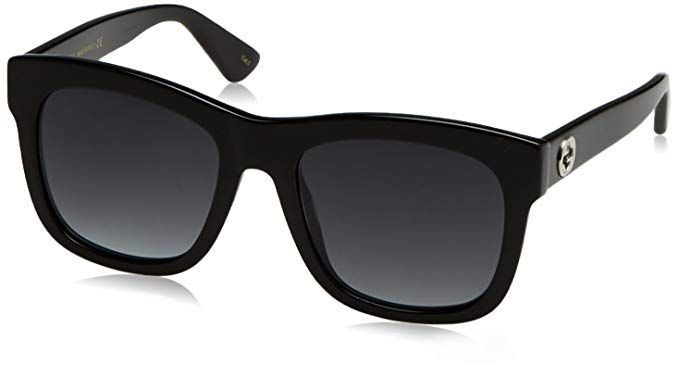 aca24cd03ab Gucci GG0032S Sunglasses 001 Black   Grey 54mm Review