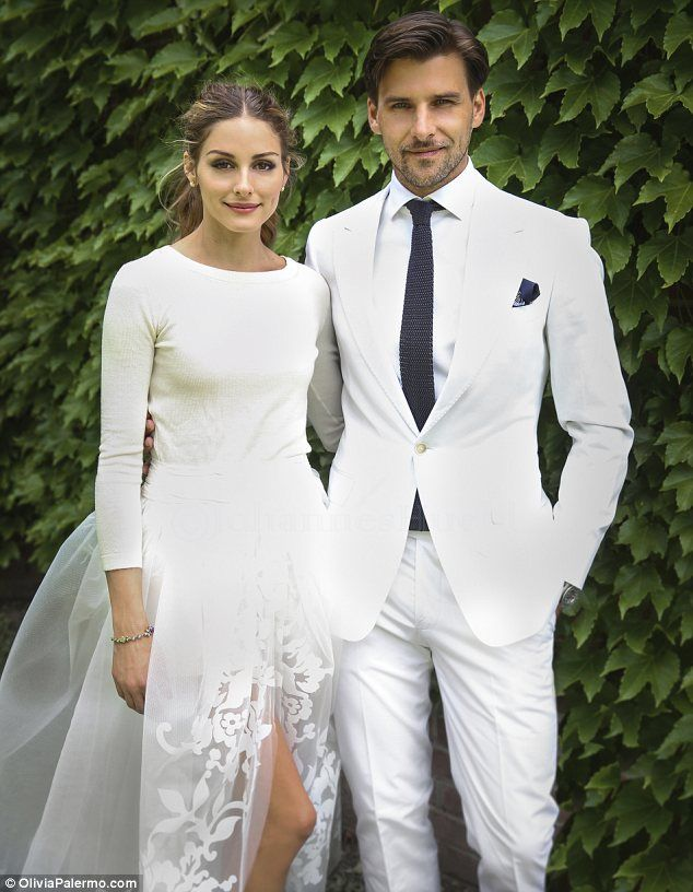 Introducing Mr and Mrs Huebl: Olivia Palermo married longtime love Johannes Huebl in Bedford, New York on Saturday