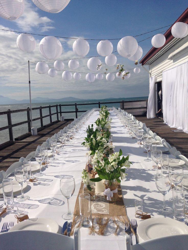 Our beautiful wedding at the spectacular Sugar Wharf, Port Douglas