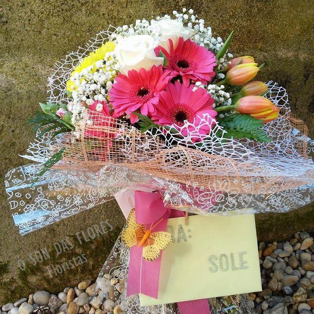 Ó son das flores: Ramos llenos de luz y delicadeza en muchosmomentos...