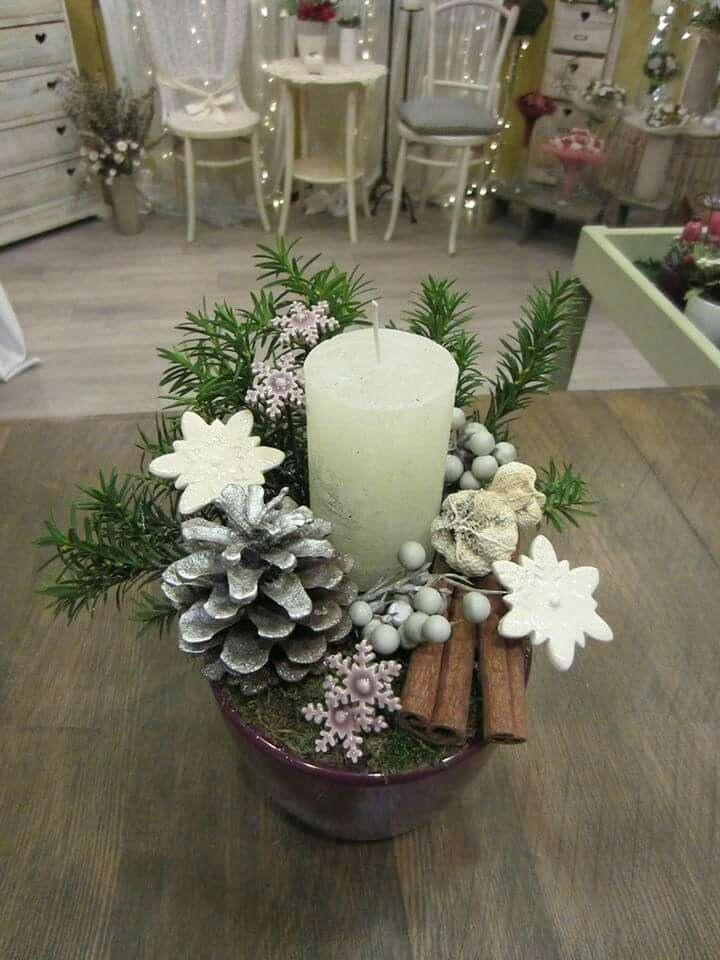 Bokreta keràmia - hungarian handmade ceramic flowers, decoration made by Ùjszàszi Györgyi ❄ christmas home decor
