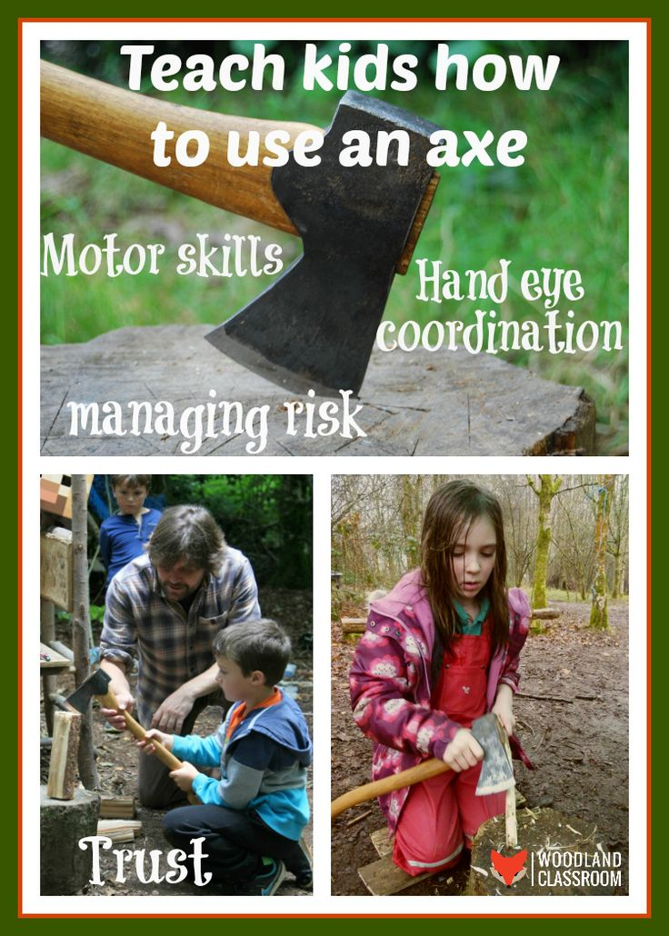 Kids love using sharp tools. It is so important that they know how to be safe and respect the tool. The only way to make them safe is to to teach them how! Check out our Forest School blog to give you the confidence to teach your own child axe skills.