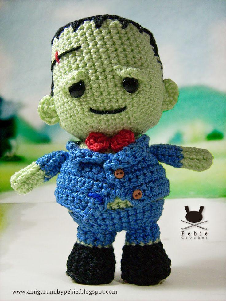 Funny Amigurumi by Pebie: Toto Frankenstein
