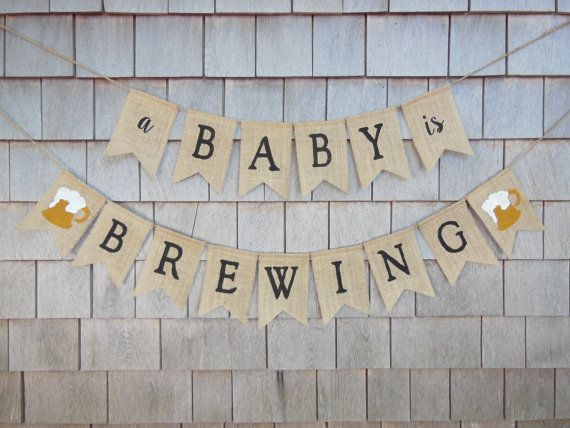 A Baby Is Brewing Baby Shower A Baby Is by IchabodsImagination
