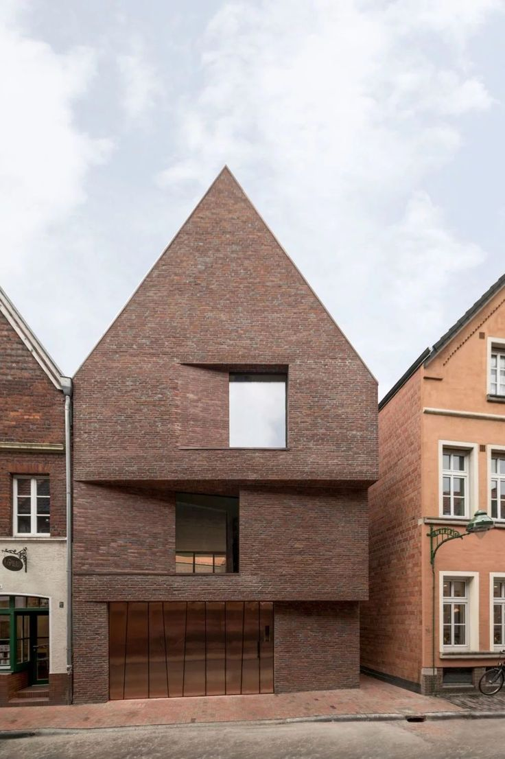 hehnpohl architektur . Haus am Buddenturm . Münster afasia (1) – brick facade