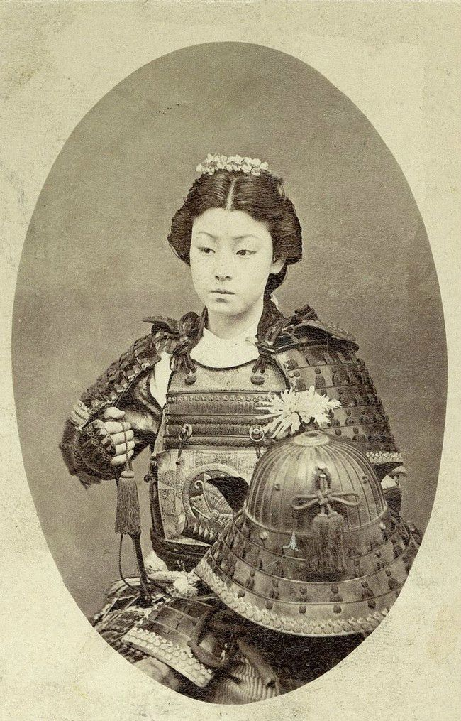 A FEMALE Samurai Warrior (c. late 1800s) | 20 Badass Women Who Destroyed Stereotypes and Inspired Future Generations