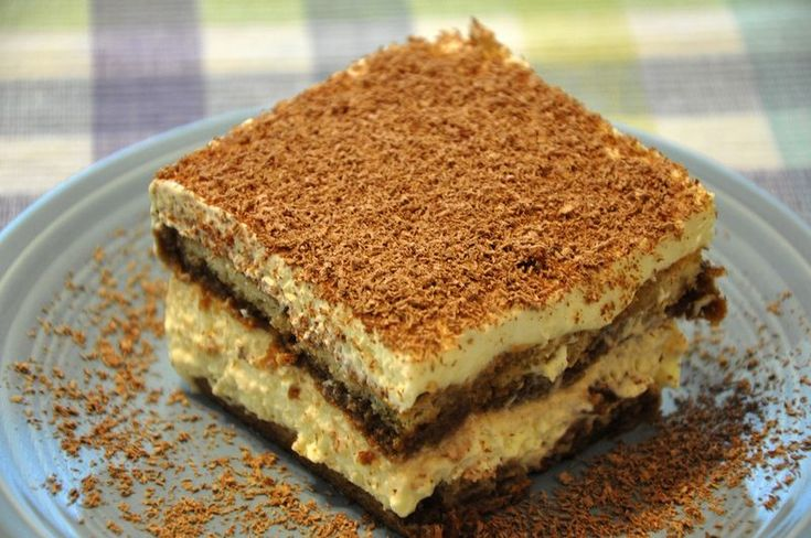 """Tiramisu (recipe) - """"I made my own version of it for my cousins while I was visiting them in Palermo.  It was a hit, and my cousin Salvatore, who 'doesn't eat desserts' gobbled up piece after piece and was asking for more."""""""
