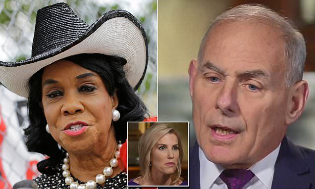 John Kelly will 'never' apologize to Frederica Wilson | Daily Mail Online