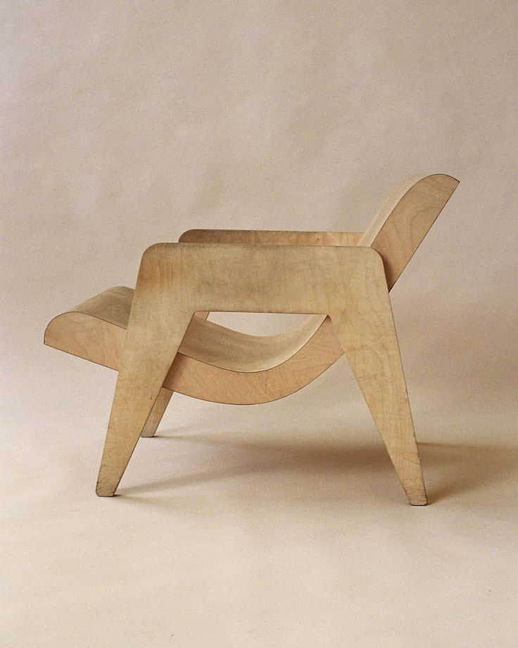 Plywood chair by Erno Goldfinger. For more, visit houseandleisure.co.za