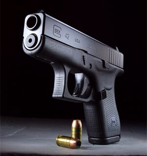 Glock 42 .380 - even fits in your skinny jeans.