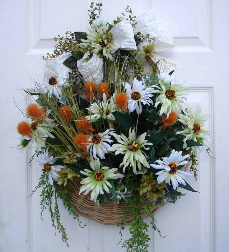 Best images about wall baskets on pinterest floral