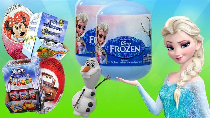Video de Huevo Sorpresa de Frozen. Como pueden ver siempre tenemos sorpresas lindas en cada video! Los invito esta vez a descubrir que se esconde dentro de cada una de las sorpresas de Frozen, Avengers Mashems y Pitufos Mashems :) #Huevitos #Sorpresa #Frozen #Kinder #Huevo #Sorpresa