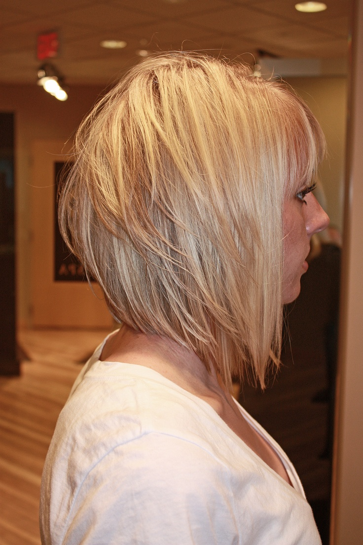 Textured bob, good length...maybe for me..real soon