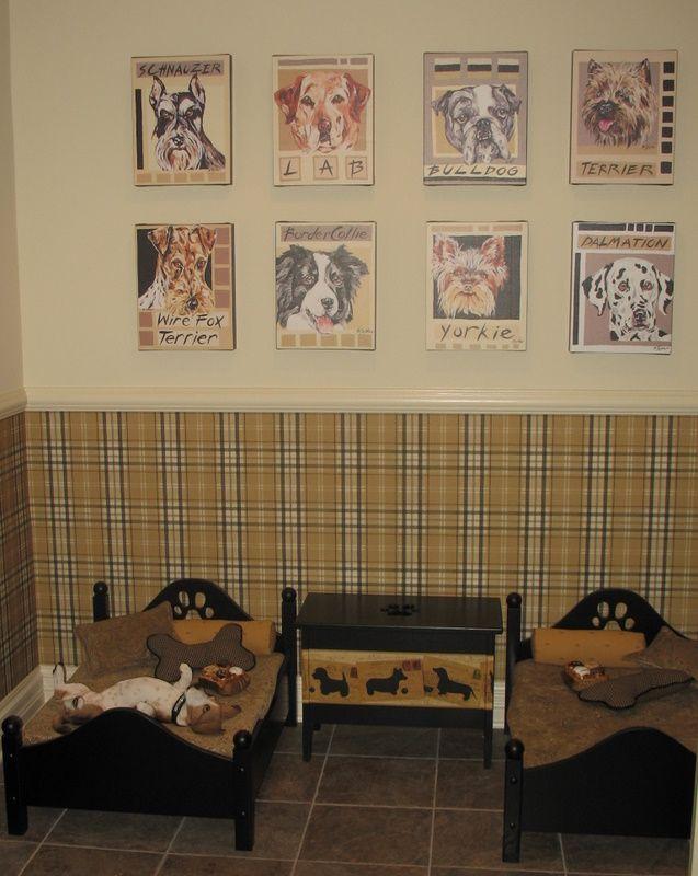 48 best Dog Room images on Pinterest Dog rooms, Animals and Dog - dog bedroom ideas