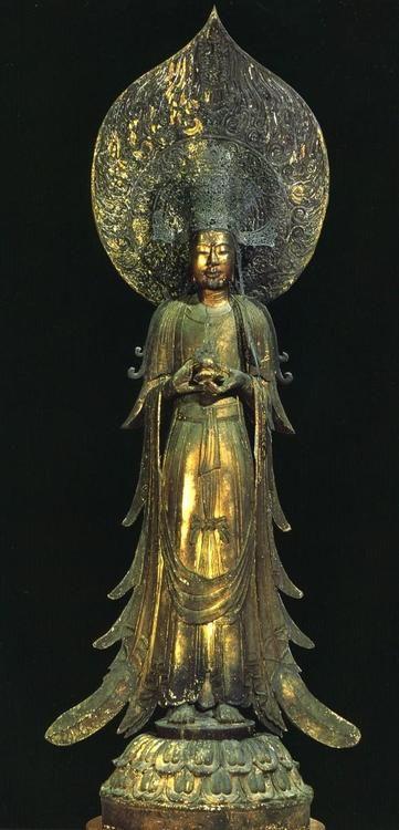 Beautiful Kannon. 法隆寺 救世觀音像