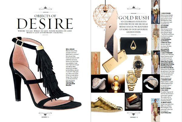 """ARTICLE: """"Where to go, what to get your hands on & what's got everybody talking."""" Read more in the #ShimmyStyle mag"""