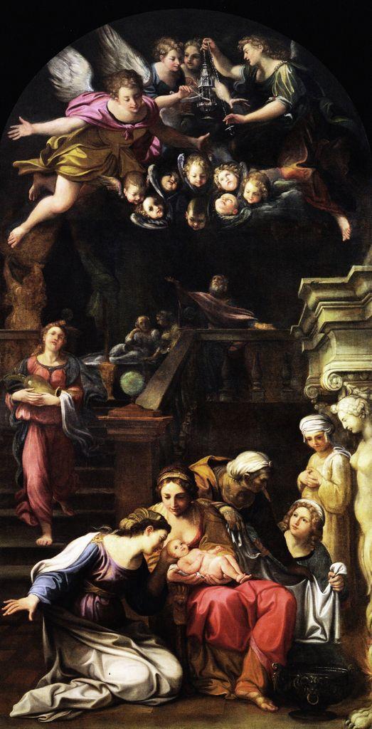 The Athenaeum - The Birth of the Virgin (Francesco Albani - )