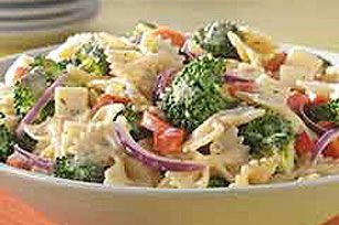 creamy italian pasta salad recipe substitute mayo for greek yogurt par tay pinterest. Black Bedroom Furniture Sets. Home Design Ideas