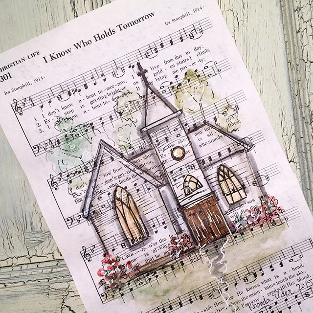 Old Rugged Cross Saxophone: 311 Best Images About Sheet Music Crafts On Pinterest