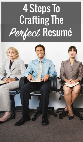 4 Steps To Crafting The Perfect Resumé  https://www.cashthechecks.com/4-steps-crafting-perfect-resume/