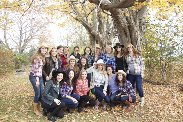Western Rodeo Cowgirl Themed Bachelorette Party | thedomesticblonde.com