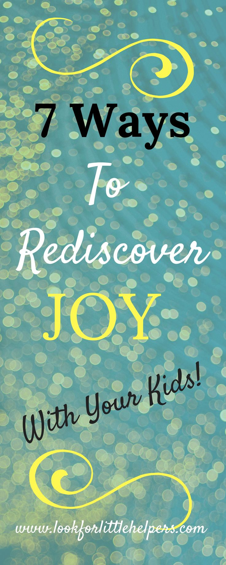 Learn how to find the joy and magic of childhood again. (Hint: We can learn FROM our kids!) Rediscover joy after having children.