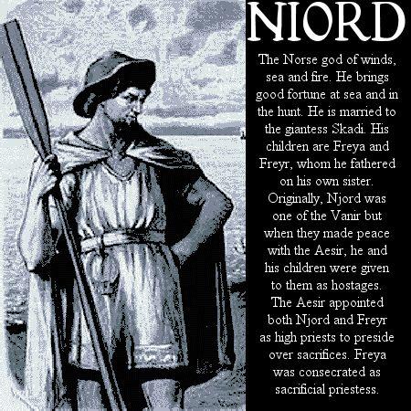 Image detail for -Norse mythology Niord
