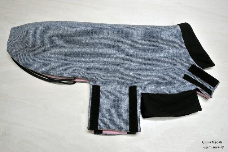 http://regalidacani.it/categoria-prodotto/regali-da-cani/abbigliamento/ #cappottino #cani #fattoamano #made in #Italy #GiuliaMegali www.regalidacani.it