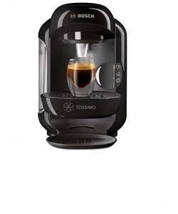 Tassimo by Bosch T12 Vivy Coffee Machine - Black.