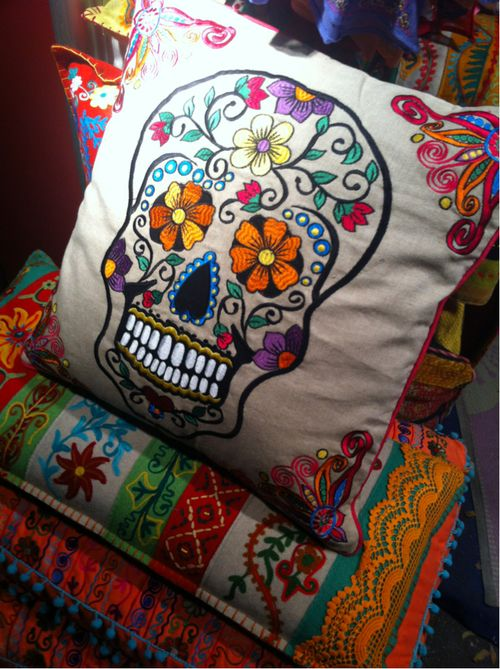 Beautiful textiles and color but the pillow is meh